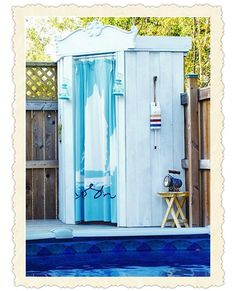 Portable Cabana Stripe Changing Room Privacy Tent Pool ...