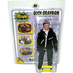 "Batman TV Classic: Undercover Agent Dick Grayson 7.5"" Action Figure | ToyZoo.com"