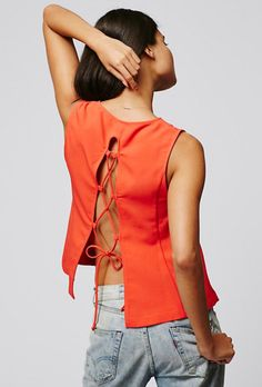 21 Tie-Back Tops to Buy Right Now | StyleCaster