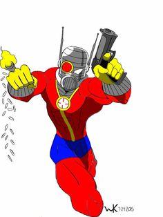 ant-man (hank/henry Pym/scott lang)/deadshot