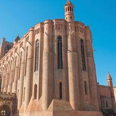 agrandir Plus belle cathédrale de France: Sainte-Cécile d'Albi Architecture Antique, Sainte Cecile, Saint Nazaire, Plus Belle, Styles, Monuments, Pisa, Temple, Medieval