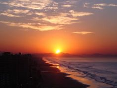 Sunrise at Mongaguá - SP (south coast) - Brazil