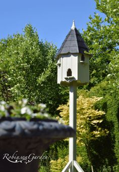 The Robinson Garden gallery for our beautiful and bespoke wooden dovecotes slate roof wooden roof. Slate Roof, Bird Houses, Bespoke, Gallery, Garden, Outdoor Decor, Beautiful, Home Decor, Taylormade