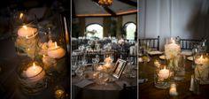 Wedding Reception Candles © Matt Ramos Photography