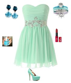"""""""Brides mate dress"""" by treti ❤ liked on Polyvore"""