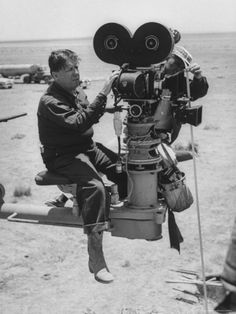 George Stevens was an American film director, producer, screenwriter and cinematographer.  Among his most notable films: A Place in the Sun (1951), Shane (1953), Giant (1956), and Diary of Anne Frank (1959).