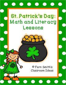 Fern Smith's Classroom Ideas!: Fern's Freebie Friday ~ St. Patrick's Day Writing Center