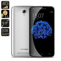 Doogee Y100 Plus Smartphone (Grey)