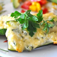 """Grilled Garlic Parmesan Zucchini I """"What a quick and easy recipe. I sliced the zucchini length wise into four slices. Once on the grill, I brushed on the melted butter, then sprinkled with garlic powder and parsley flakes. Side Dish Recipes, Vegetable Recipes, Vegetarian Recipes, Dinner Recipes, Healthy Recipes, Vegetarian Grilling, Healthy Grilling, Eat Healthy, Delicious Recipes"""
