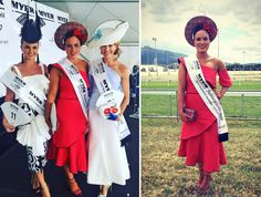 An in-depth look at the 2017 Myer FOTF State Finalists' outfits. See the brands, inspiration and creativity behind these gorgeous race day looks. Dresses For The Races, Were All Mad Here, Mad Hatters, Race Day, Racing, Hats, Pretty, Blog, Inspiration