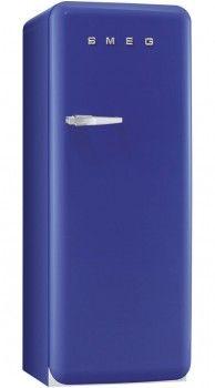 SMEG - Réfrigérateur 1 Porte ANNEES 50 FAB28RBL1 (FAB 28 RBL 1) Bleu
