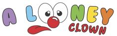 Logo for A Looney Clown created by daughter Jesse Mello