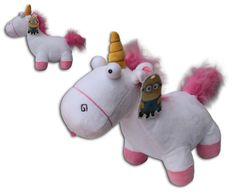 Einhorn Agnes Minion 12 Grus Minions Toy Doll Plush Despicable Me 2 Minions  Yellow Super Soft Henchmen Monster c57668cfb55