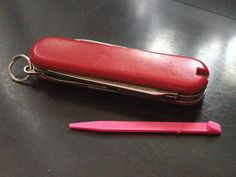 Don't know about you, but I'm always losing the toothpick from my Victorinox Swiss Army Knife. OK, you can get a new one on eBay, but it's so much better to be able to print yours out in just a couple of minutes - and in your choice of colour.