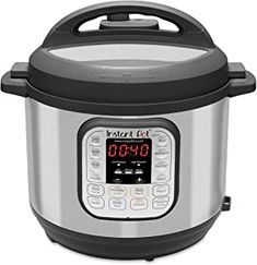 Instant Pot Duo Electric Pressure Cooker Slow Cooker Rice Cooker Steamer Saute Yogurt Maker and Warmer 8 Quart 14 One-Touch Programs Best Rice Cooker, Best Pressure Cooker, Best Slow Cooker, Pressure Cooking, Cooking Ribs, Cooking Food, Lava, Instant Pot, Bulthaup Kitchen