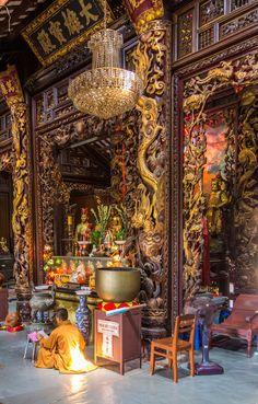 Chua Vinh Trang, Saigon, Vietnam http://viaggi.asiatica.com/