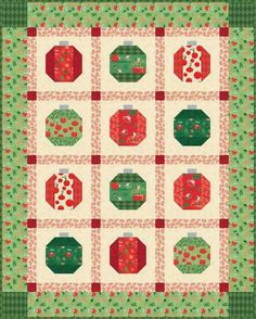 It's Christmas in July, and here is another Free Pattern Day for the holidays! Today we're focused on quilted Christmas wreaths, Ornaments,...