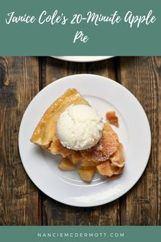 Three Swingin Chicks' 20-Minute Apple Pie - Nancie's Table Jello Recipes, Delicious Recipes, Healthy Recipes, Best Comfort Food, Comfort Foods, 1950s Food, Frozen Puff Pastry, Good Food, Yummy Food