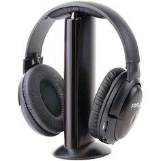 Pyle Pro Professional Wireless Headphone System With Microphone. Get New Pyle Pro Professional Microphone Wireless Headphone Gadget Daily Deals Bluetooth Headphones, Wireless Headphones, Over Ear Headphones, Radios, Radio Online, Audio Store, Baby Monitor, Iphone, Video Game Console
