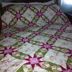 abea70ddf4 Tennessee Waltz quilt I made for my parents  40th wedding anniversary.  Fotos De Aniversário