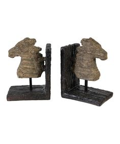 Take a look at this Horse Bookend Set by A Home on #zulily today!