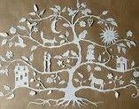 Résultat d'images pour papier decoupes fenetres de noel