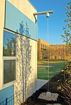Leading Tips For Conserving Water In Your Location – Greenhouse Design Ideas Brick Architecture, Architecture Details, Roof Drain, Gutter Drainage, Outside Seating, Rainwater Harvesting, Rain Barrel, Watercolor Architecture, Outdoor Art