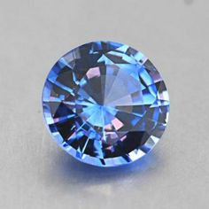 6.5mm Violet Round Sapphire from Brilliant Earth