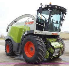 Claas 980 forage harvester   Item L6527 selling at Wednesday March 30 Ag Equipment Auction   Purple Wave, Inc.