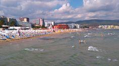 Sunny Beach, Bulgaria - In The Peak of the Summer Season