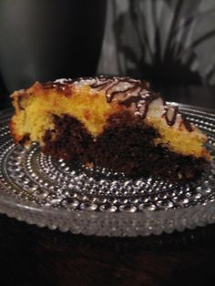 Talvinen suklaa-appelsiinikakku