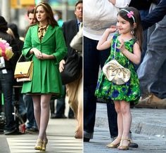 Look! A mini blair!   Blair Waldorf Style- Chuck and Blair- the Perfect Pair and Gossip Girl