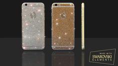 Glitzer: iPhone 6 mit Swarovski Kristallen - https://apfeleimer.de/2014/09/iphone-6-swarovski - iPhone 6 mit Swarovski Kristallen für noch mehr Glitzer und Glamour! Sicherlich trifft ein Swarovski iPhone 6 (Plus) nicht jeden Geschmack aber wer auf Bling-bling steht sollte sich diese iPhone 6 Editionen, handveredelt mit Swarovski Glitzer einmal genauer anschauen. Auch US-Rapper 50 Cent ...