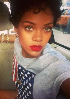 Fantastic Pin By Geraldine Villavicencio On Rihanna Lt3 Pinterest Short Hairstyles For Black Women Fulllsitofus
