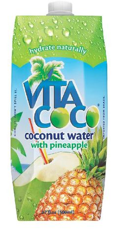 coconut water-- my new obsession, get it at Kroger in the organic section! Awesome Product! Hang over cure too ladies! ;)