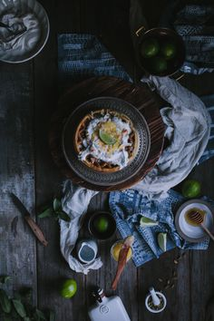 Coconut Waffles with Lime Curd + Cardamom Whipped Cream by Eva Kosmas Flores | Adventures in Cooking
