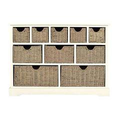 Cottage Ivory 10 Drawer Sideboard | Dunelm