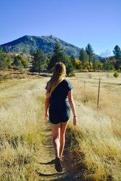 Stonewall Mine trail in Julian, California