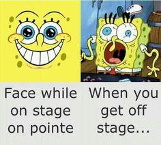 ITS SO TRUE .... Dancer probs