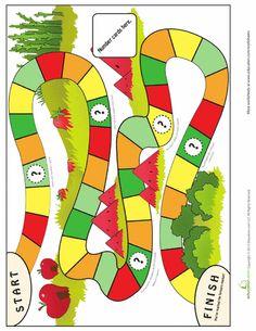 Resultado de imagen para free board game templates for teachers Free Board Games, Preschool Board Games, Educational Board Games, Printable Board Games, Game Boards, Work Activities, Preschool Activities, Board Game Template, Make Your Own Game