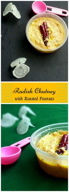 This version of Radish Chutney is prepared by grinding shallow fried Radish with Roasted Peanuts. Hmmm sounds very tasty isn't it ?. Since we are also adding peanuts for this chutney, we can also have this chutney for any breakfast food like Idli, dosa etc. Tasty Vegetarian Recipes, Healthy Recipes On A Budget, Quick Healthy Meals, Milk Recipes, Delicious Vegan Recipes, Best Sauce Recipe, East Indian Food, Clean Eating Diet, Eating Healthy
