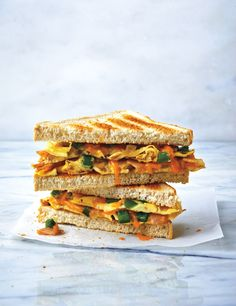 Classic Toasted Western Sandwiches