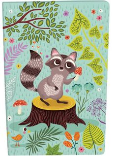 Roger la Borde | Raccoon Exercise Book by Helen Dardik