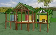 eco houses in costa rica - Google Search