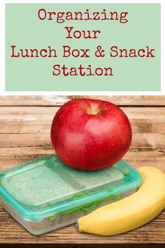 Organizing Your Lunch Box & Snack Station :: Great diy ideas for back to school organization for your home!