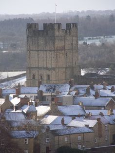 Richmond Castle, North Yorkshire, UK