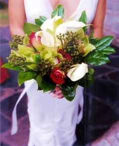 Bridal Bouquet from Fuji Floral Design - http://www.fujifloraldesign.com/bouquets.html
