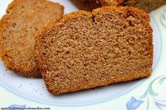 Bezlepkový chléb s kokosovým olejem (bez kvasnic) - verze 1.