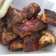 Rib tips at #smokehousebbqgr #ribtips #barbecue #bbq