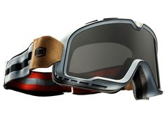 The Barstow: the coolest motorcycle goggles we've ever seen.